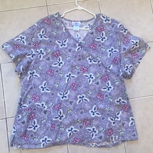 Other - Butterfly scrub top